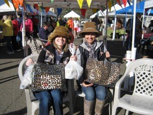 Happy customers at the Winter Market!