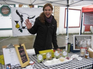 Make sure you try some of Liz's award-winning chevre this Saturday!