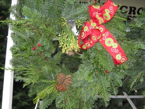 Homegrown Harvest will have freshly-cut trees (big and small) and hand-made wreaths.
