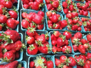 Strawberries this week!