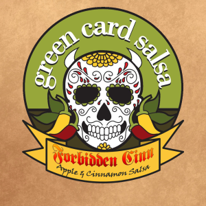 Green Card Salsa...perfect for your Halloween party...:)