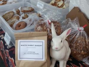 White Rabbit Bakery has their own gluten-free baking mix!