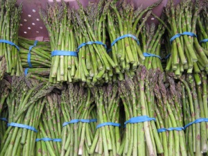 Asparagus too this week!