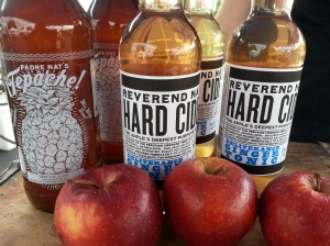 Rev Nat's Hard Cider is back this week!..great chilled on a hot day.