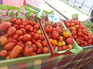 Tomatoes, including salad, heirloom , paste and canning on Wednesdays!