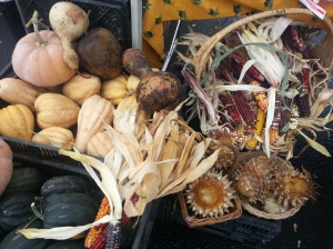 Lovely Fall display from Pitkin Winterrowd Farms.
