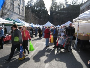 Free, close parking on Saturdays at the Winter Market!