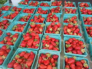 We'll have berries...but get there early to get some! More farms next week.