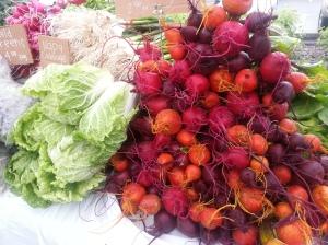 Beautiful Certified Organic produce from Simmington Gardens