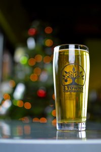 Drink an ice-cold glass of Two Towns Cider this Saturday!