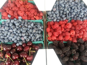 Find all the berries, cherries, peaches and more...