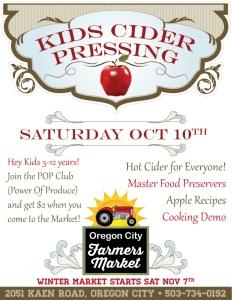 Apple-Tasting this saturday...cider-pressing Oct. 10th!