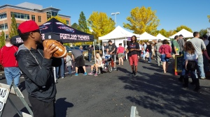 Fun last Saturday with the Portland Thunder...this week... Bike To Market Day! Obstacle course and prizes for the kids!