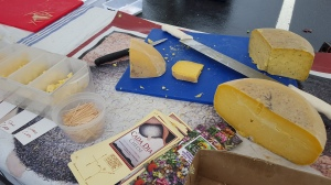 A must-stop is the cheese booth....Pat will cut you samples ...and wedges to take home.